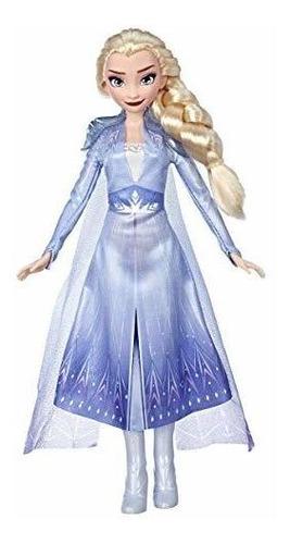 Imagen 1 de 4 de Disney Frozen Elsa Fashion Doll Con Cabello Largo Rubio Y At
