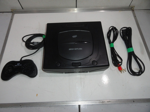 Sega Saturn Destravado Modchip Console Bivolt Completo C06