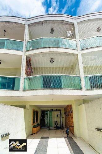 Sobrado Com 3 Dormitórios À Venda, 128 M² Por R$ 520.000 - Parque Das Nações - Santo André/sp - So0933