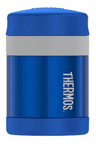 Thermos - Termo Para Alimentos - Azul- Con Cuchara