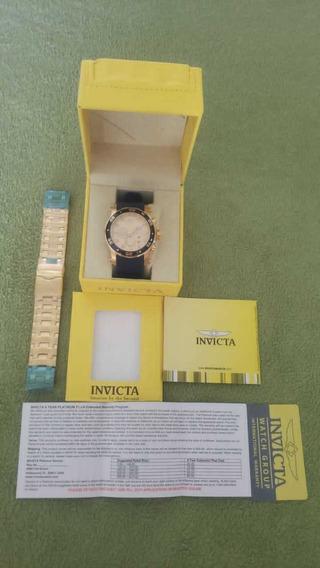 Relógio Invicta Pro Diver Com Pulseira Extra A Prova D