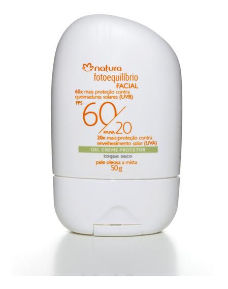 Natura Fotoequilibrio Gel Creme Protetor Facial Fps 60