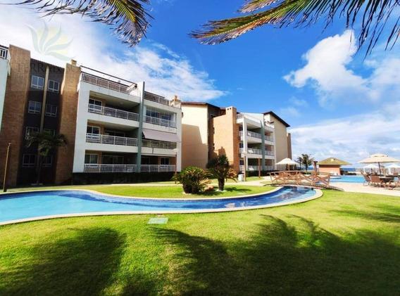 Cobertura Duplex No Condomínio Terra Maris Na Praia De Porto Das Dunas. - Ap0710