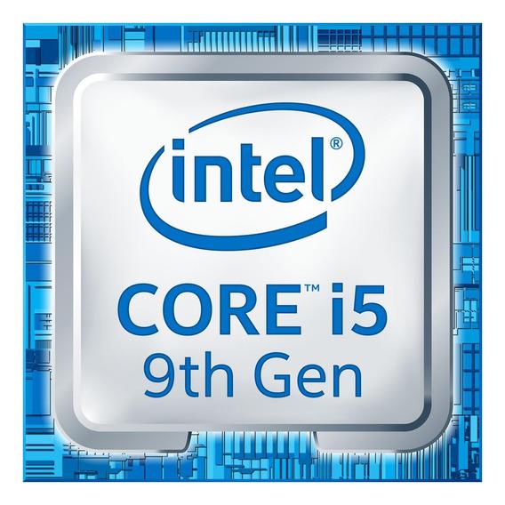 Processador gamer Intel Core i5-9600K BX80684I59600K de 6 núcleos e 4.6GHz de frequência com gráfica integrada