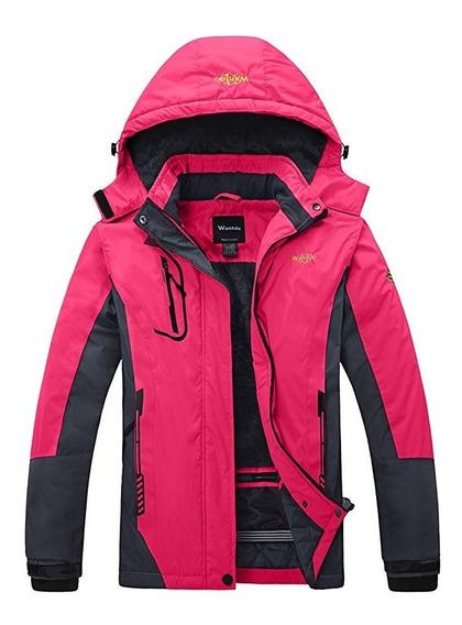 Chamarra Alpina Dama Mujer Parka Termica Nieve Frio Extremo