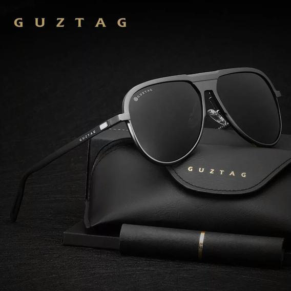 Óculos De Sol Aviador Polarizado Piloto Original Uv400