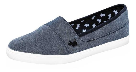 Zapato Casual Dama Ferrioni H4001mz Azul 22-26 066-806 T4*