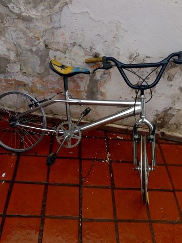 Bicicleta Cromada Bmx