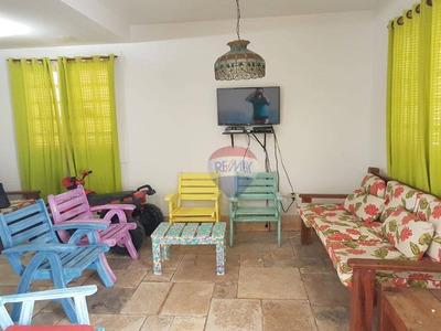 Casa Com 3 Dormitórios À Venda Por R$ 270.000 - Loteamento Portal De Tamandaré - Tamandaré/pe - Ca0034