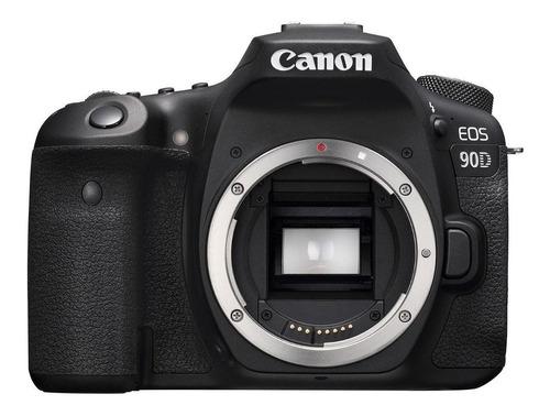 Imagen 1 de 3 de Canon EOS 90D DSLR color  negro