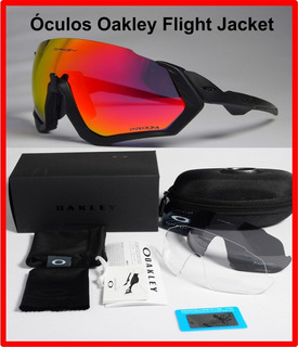 Óculos Bike Ciclismo Oakley Flight Jacket.