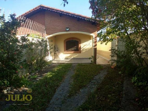 Entrada R$ 56 Mil E Saldo Financiado! Casa Com 2 Dormitórios, 90 M² Por R$ 230.000 - Flórida Mirim - Mongaguá/sp - Ca3440