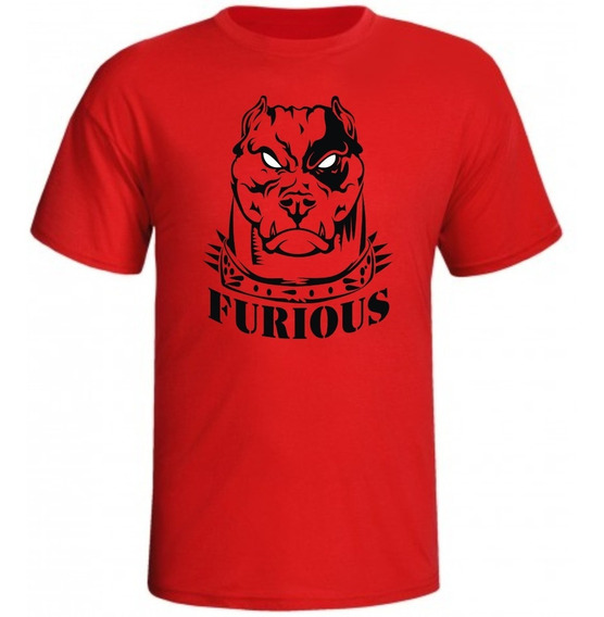 Camisa De Musculação Furious