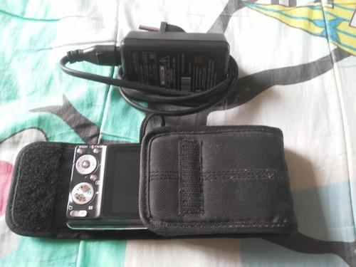 Câmera Digital Sony Cyber-shot 12.1 Mp C/ Carregador E Bolsa