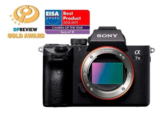 Camera Sony Alpha A7iii A7 Iii A7m3 Corpo + Nf-e 1ano G Sony