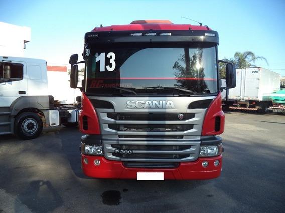 Scania P 360 Ano 2013-vermelha Muito Nova!!!!