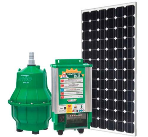 Bomba Solar Anauger Para Lago E Rio Até 8600l/dia + Coletor