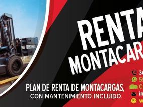 Renta De Montacargas Tel. 36032857, 58508122