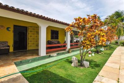 Casa Em Iguape, Aquiraz/ce De 450m² 4 Quartos À Venda Por R$ 295.000,00 - Ca191209