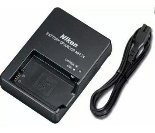 Carregador Nikon Mh-24 Pra En-el14 En-el14a D3100 D3200p7000