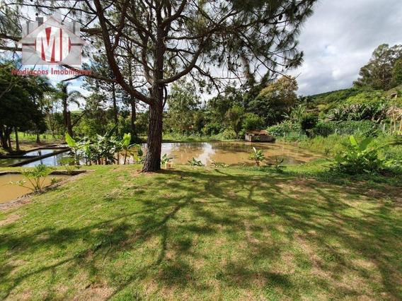 Lindo Terreno Com Lago, Excelente Bairro A 5 Km Da Cidade À Venda, 3000 M² Por R$ 220.000 - Zona Rural - Pinhalzinho/sp - Te0250
