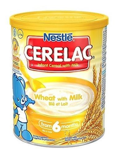 Imagen 1 de 1 de Trigo Nestlé Cerelac Con Leche 400 G Inglaterra