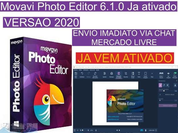 Movavi Photo Editor 6.1 Em Português Envio Imediato