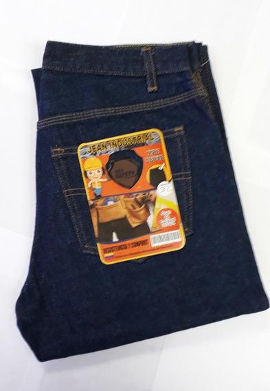 Pantalon Jean Industrial Triple Costura Solo Safety
