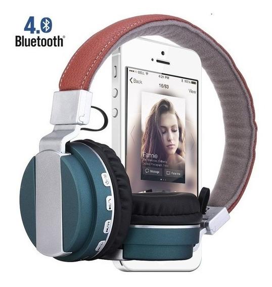 Fone Ouvido Bluetooth Sem Fio Radio Chamadas Musicas Ligação
