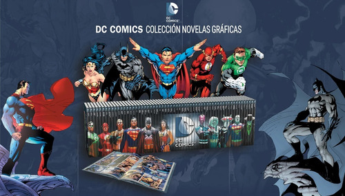 Imagen 1 de 2 de Colección Novelas Gráficas Dc Comics El Tiempo