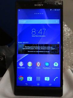 Smartphone Celular Sony T2 Ultra - Trocar Tela E Bateria