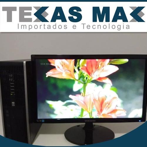 Computador+monitor+teclado+mouse Hp Core I7 -mem.8gb Hd 250