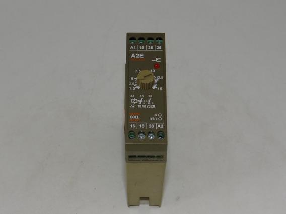 Pacote De Rele Temporizador A2e 15min 110v Coel