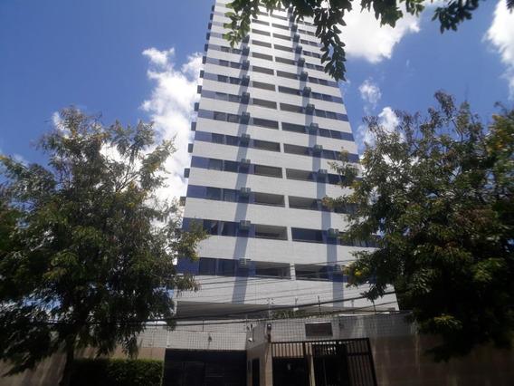 Apartamento Com 2 Quartos Para Alugar, 56 M² Por R$ 1.638/mês Com Taxas - Torre - Recife/pe - Ap2102