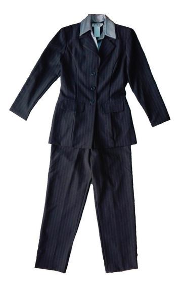 Terno Elegante Sastre Vestir Mujer Large Dby Original Regalo