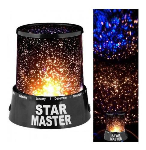 Imagen 1 de 4 de Lampara Led Colores Proyector De Estrellas
