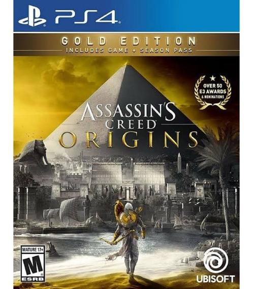 Assassins Creed® Origins Gold Edition Ps4/ Secundaria/ Br