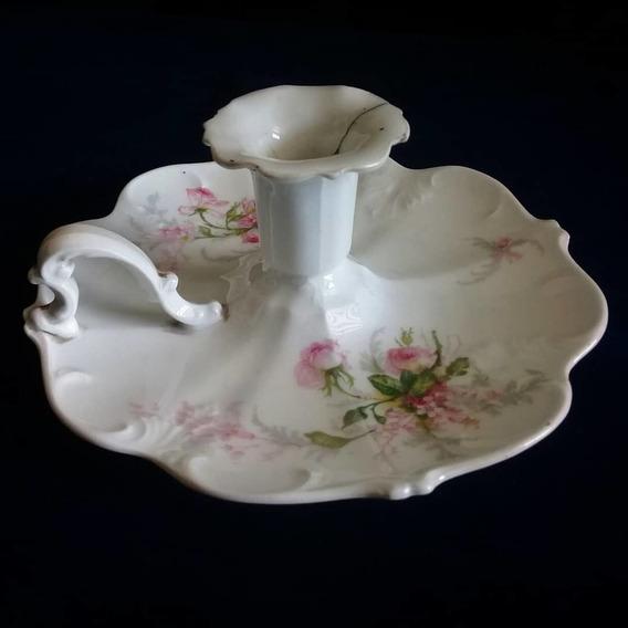 Candelabro Limoges Porcelana