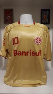 Camisa Futebol Internacional Dourada 2009 Nova Frete Gratis