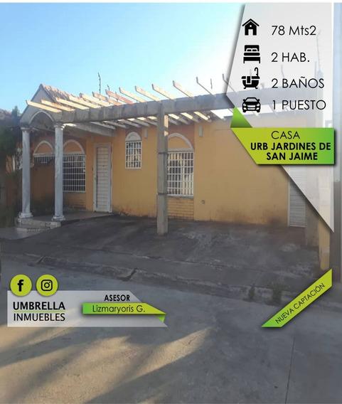 Casa Para La Venta En Urb Jardines De San Jaime