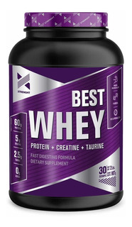 Proteína Best Xtrenght Protein 2 Lbs Nutrition Whey Masa Muscular Rendimiento Recuperación (sin Intereses)