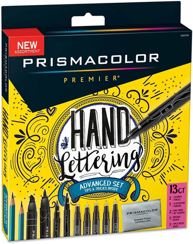 Prismacolor Premier Marcadores + Goma + Lapices Grafito 13 C