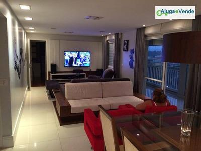 Apartamento Com 3 Dormitórios, 3 Suítes À Venda No Condomínio Parque Clube Guarulhos, 134m² Por R$ 900.000 - Vila Augusta - Guarulhos/sp - Ap0040