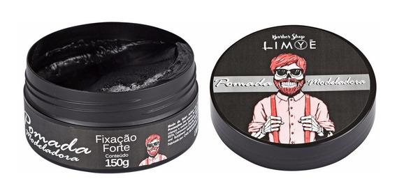 Pomada Modeladora Barber Shop Barba Cabelo Bigode Man Limye