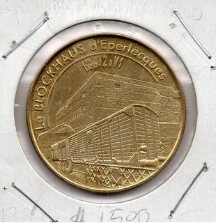 Medalla Del Bunker Le Blockhaus De Eperlecques # 24 Apo