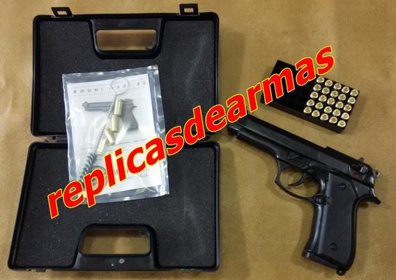 Pistola De Fogueo Beretta 92 Pavon 9 Mm + 25 Cartuchos