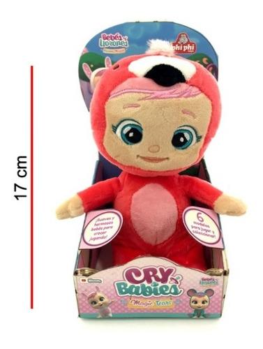 Peluche Cry Babies 17 Cm En Caja Bebés Llorones Phiphi Toys
