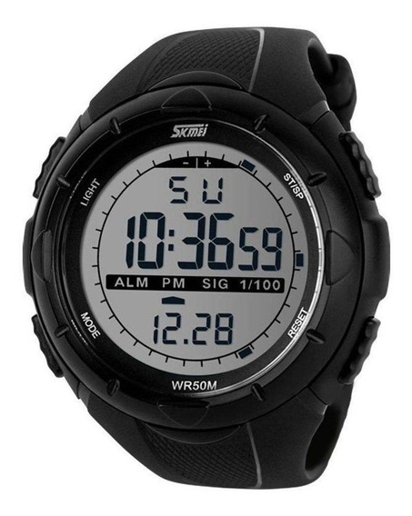 Relógio Led Original Skmei Esportivo 1025 A Prova D