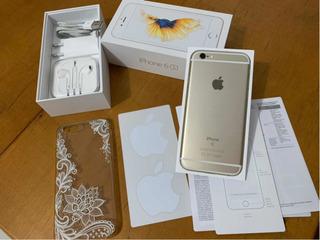 iPhone 6s 128gb Dourado Impecável Bateria 100%
