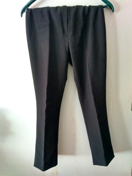 Pantalon De Vestir De Mujer Negro - Talle S - Marca Mango